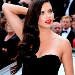 Adriana Lima is listed (or ranked) 7 on the list List of Famous Models