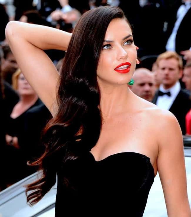 Adriana Lima is listed (or ranked) 6 on the list The Most Captivating Celebrity Eyes (Women)