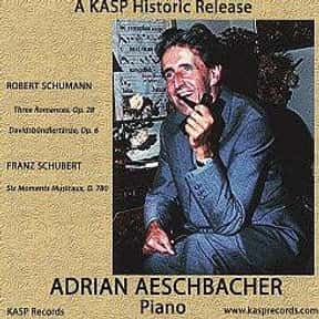 Adrian Aeschbacher is listed (or ranked) 15 on the list Famous Classical Pianists