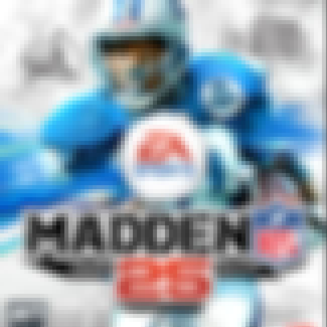 Adrian Peterson is listed (or ranked) 2 on the list The Best Madden NFL Cover Athletes