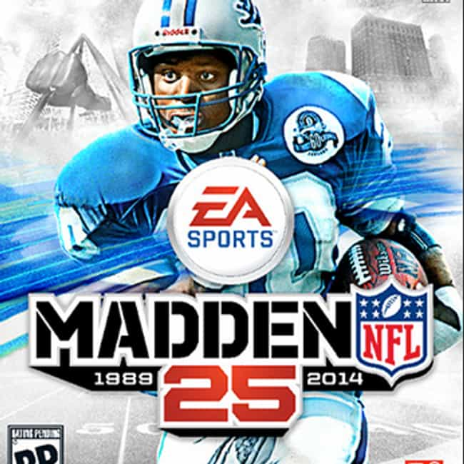 Adrian Peterson is listed (or ranked) 3 on the list The Best Madden NFL Cover Athletes