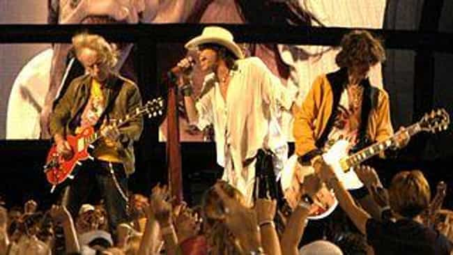 Aerosmith is listed (or ranked) 4 on the list The Most Infamous Rock and Roll Urban Legends