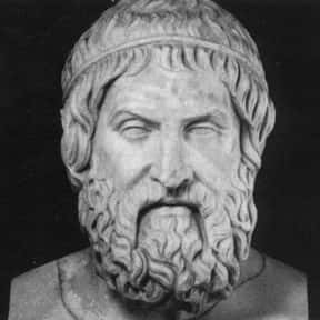 Aeschylus is listed (or ranked) 10 on the list The Greatest Playwrights in History