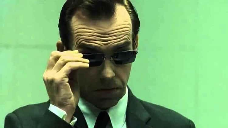 """Agent Smith - """"The Purpose of Life Is to End."""""""