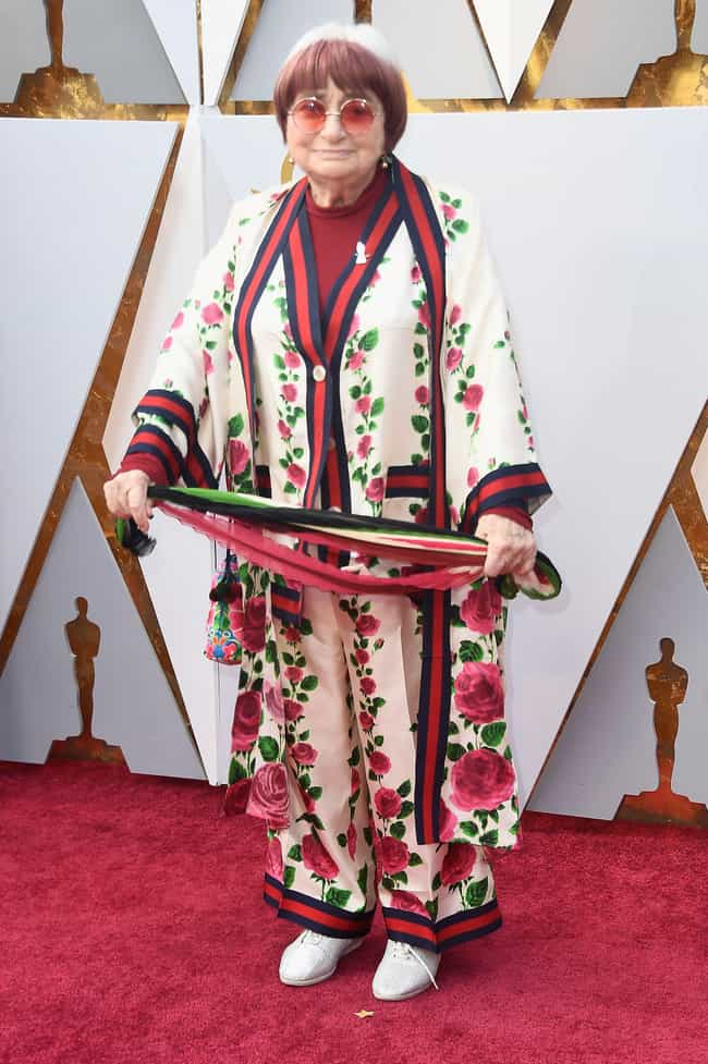 Agnès Varda is listed (or ranked) 5 on the list Worst Dressed At The 2018 Academy Awards
