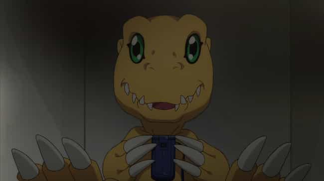 Agumon is listed (or ranked) 3 on the list The 20 Greatest Digimon Of All Time
