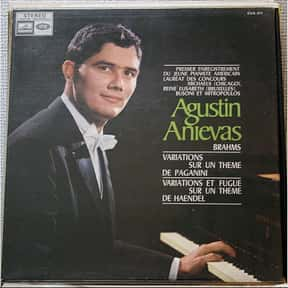 Agustin Anievas is listed (or ranked) 17 on the list Famous Classical Pianists