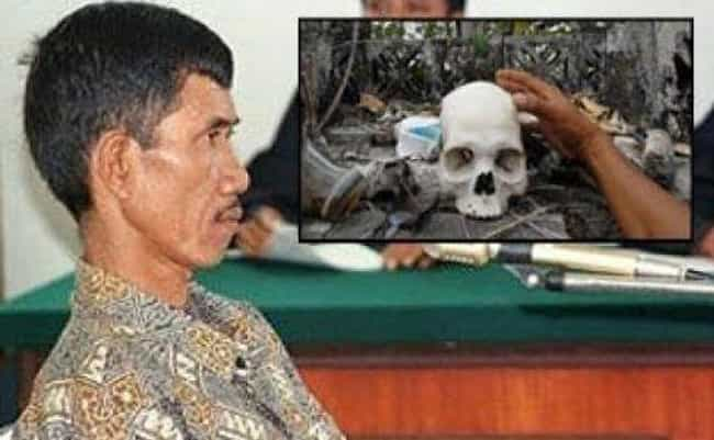 Ahmad Suradji is listed (or ranked) 2 on the list 9 Serial Killers With Frightening And Grotesque Fetishes