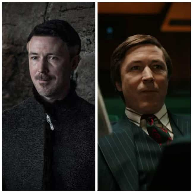 Aidan Gillen is listed (or ranked) 4 on the list Times You've Seen the GoT Actors Before