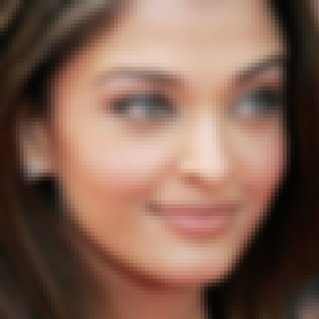 Aishwarya Rai Bachchan is listed (or ranked) 1 on the list Could Your Face Be Any More Perfect?