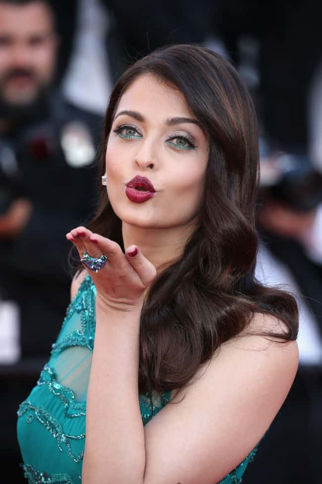 Aishwarya Rai Bachchan is listed (or ranked) 7 on the list The Most Captivating Celebrity Eyes (Women)