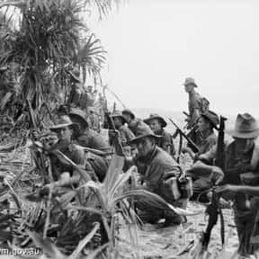 Aitape–Wewak campaign is listed (or ranked) 1 on the list World War II Battles Involving the Australia