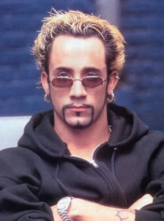 AJ McLean is listed (or ranked) 4 on the list 25 Celebrities That Gave Us Douche Chills With Their Frosted Tips