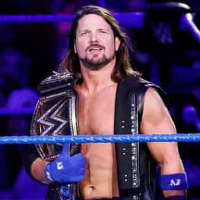 AJ Styles is listed (or ranked) 2 on the list The Best Current Wrestlers in the WWE