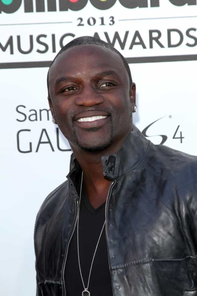 Akon is listed (or ranked) 1 on the list 23 Rappers Who Are Secretly Very Philanthropic