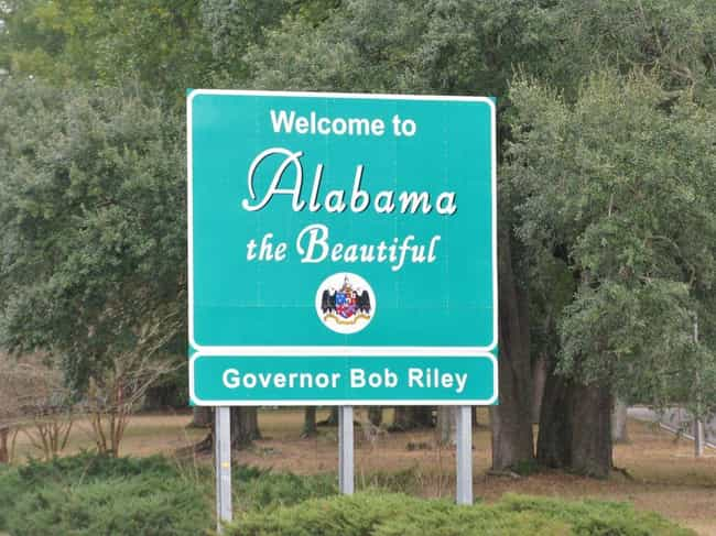 Alabama is listed (or ranked) 1 on the list How Did Every US State Get Its Name?