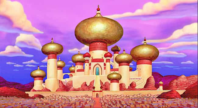 Aladdin is listed (or ranked) 3 on the list The Best Castles in Disney Animated Films