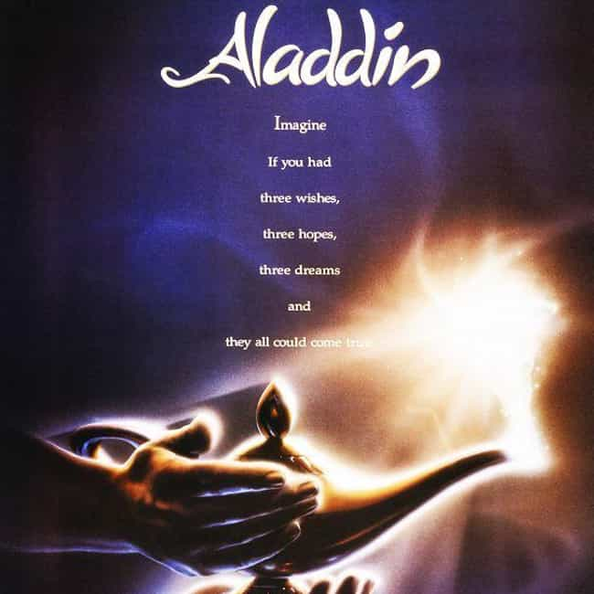 Aladdin is listed (or ranked) 4 on the list The Best Ever Robin Williams Movies