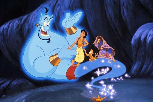 Aladdin is listed (or ranked) 4 on the list Classic '90s Movies That Got Away With Not Explaining Major Things