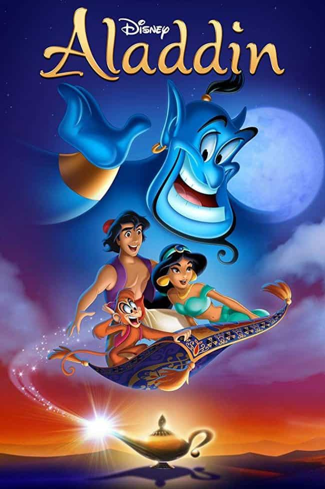 Aladdin is listed (or ranked) 1 on the list The Best Aladdin Movies