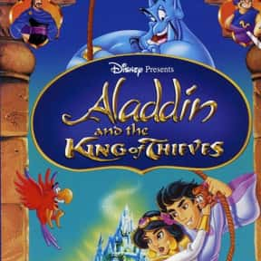 Aladdin and the King of Thieve is listed (or ranked) 7 on the list The Best Disney Princess Movies