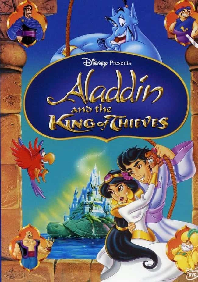Aladdin and the King of Thieve... is listed (or ranked) 3 on the list The Best Aladdin Movies