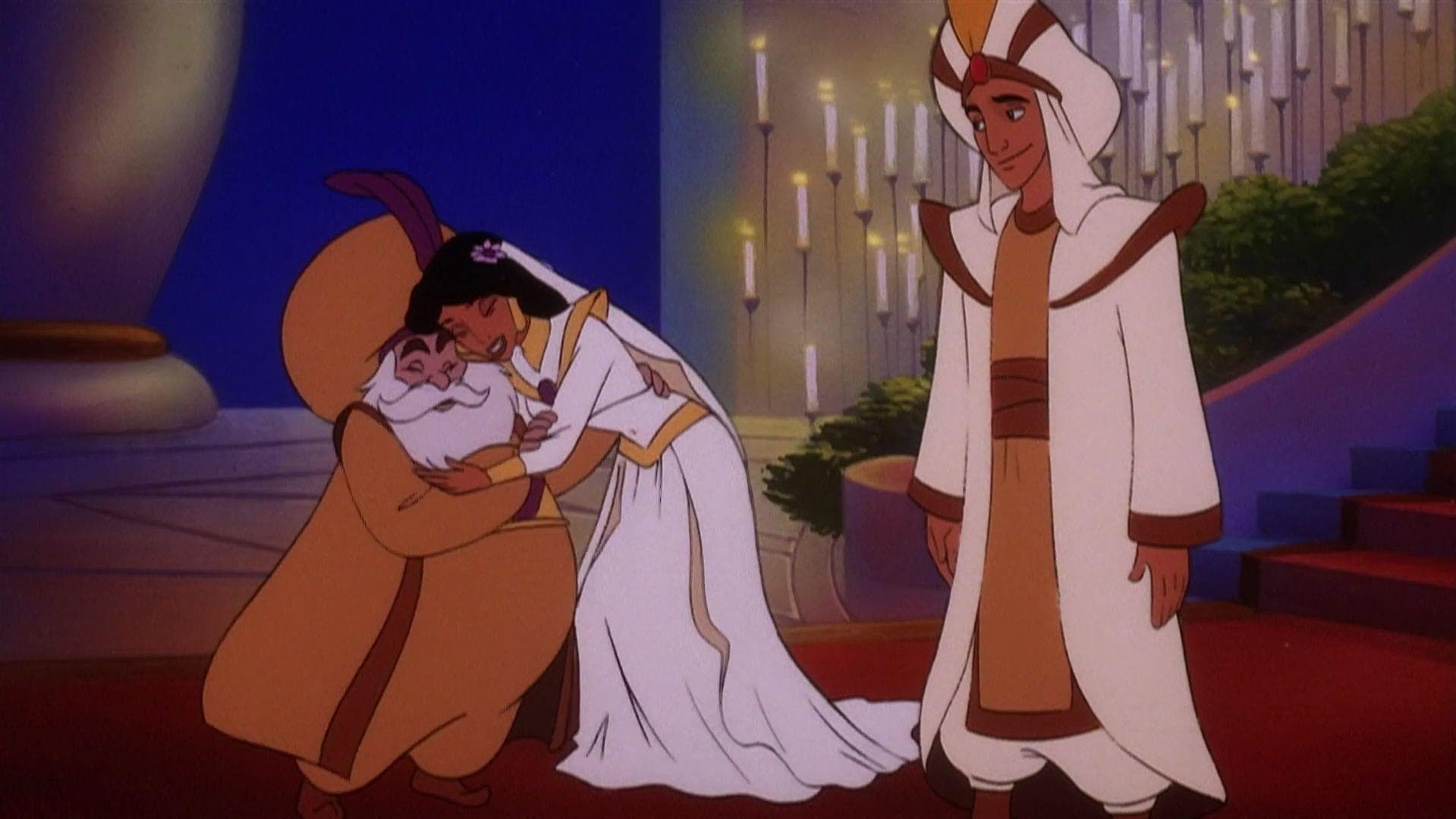 Aladdin and the King of Thieves on Random Best Cartoon Wedding Dresses By Fans