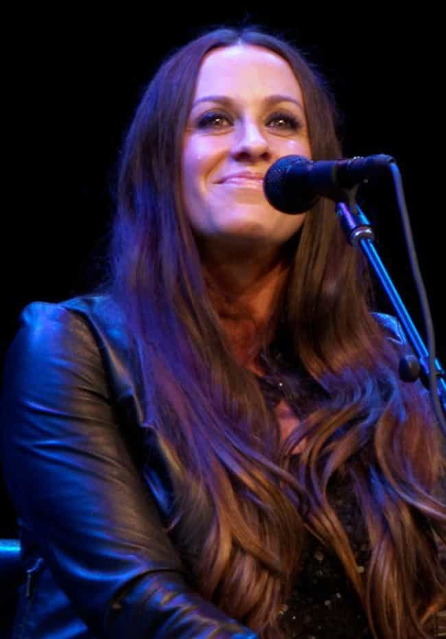Alanis Morissette is listed (or ranked) 2 on the list Rock Stars Who Have Aged Surprisingly Well