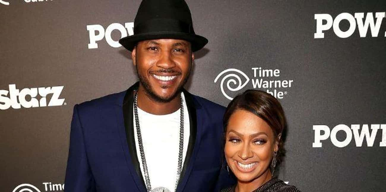 La La Anthony is listed (or ranked) 1 on the list Carmelo Anthony Loves and Hookups