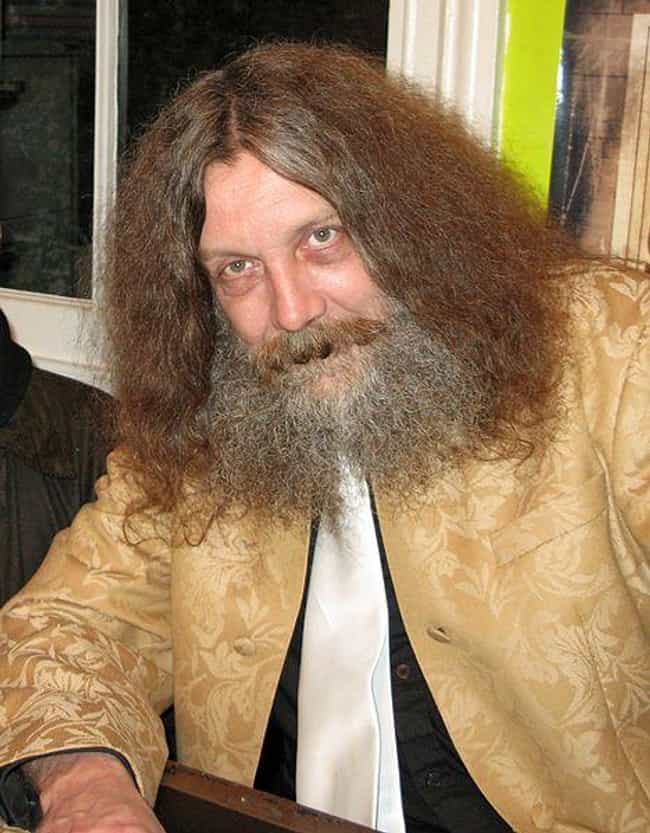 Alan Moore is listed (or ranked) 5 on the list Celebrities Who You Never Knew Were Partially Blind