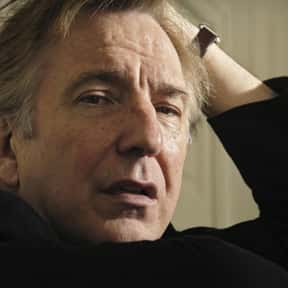 Alan Rickman is listed (or ranked) 5 on the list The Greatest British Actors of All Time