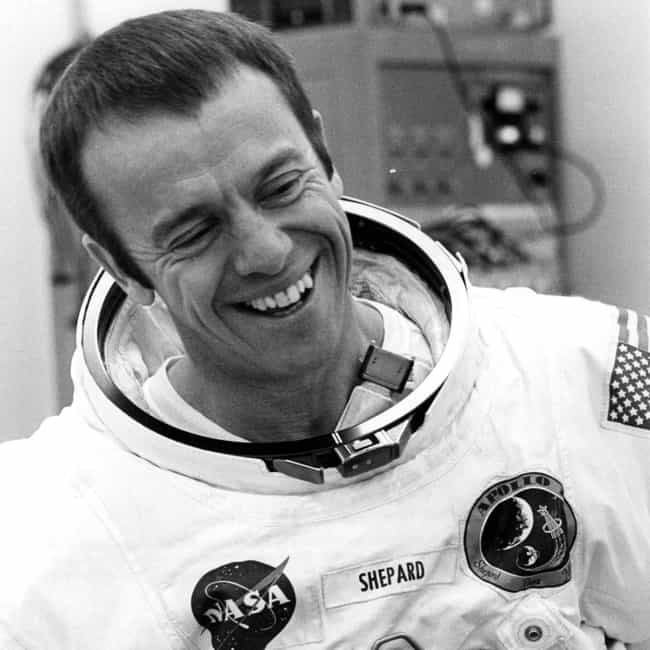 Alan Shepard is listed (or ranked) 4 on the list 14 Famous People with Vertigo