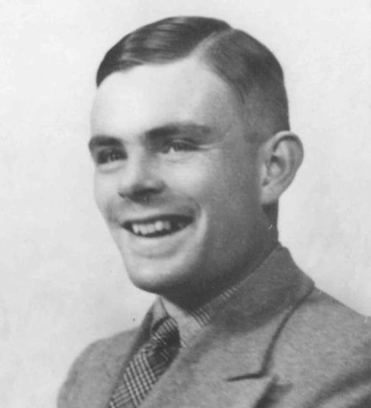 Alan Turing is listed (or ranked) 4 on the list Famous Male Mathematicians