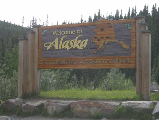Alaska is listed (or ranked) 2 on the list How Did Every US State Get Its Name?