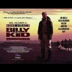 Billy the kid is listed (or ranked) 25 on the list The Best '80s Western Movies