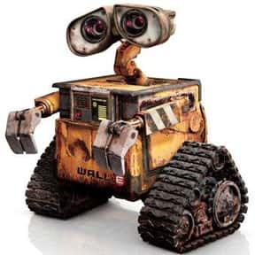 WALL·E is listed (or ranked) 4 on the list The Greatest Robots of All Time