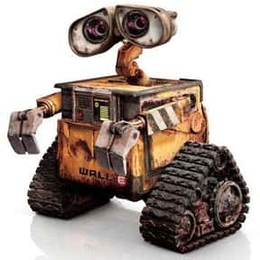 WALL·E is listed (or ranked) 3 on the list The All-Time Greatest Pixar Characters