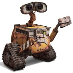 WALL·E is listed (or ranked) 1 on the list The Cutest Robots In Movies And TV, Ranked