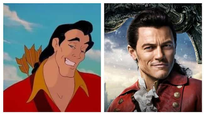 Luke Evans is listed (or ranked) 4 on the list Actors Who Played Animated Disney Characters