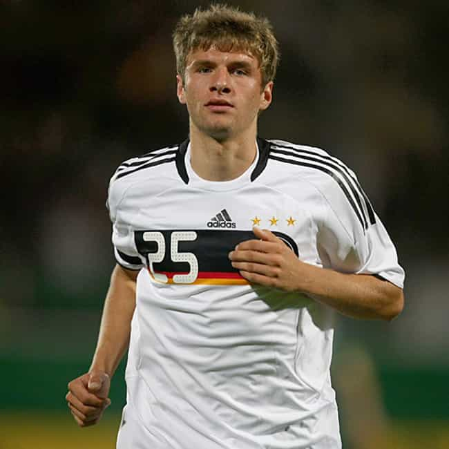 Thomas Müller is listed (or ranked) 2 on the list The Best Athletes of 2014