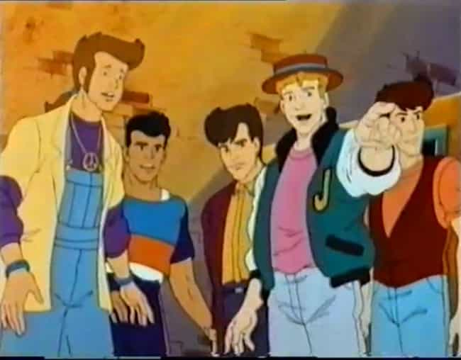 New Kids on the Block is listed (or ranked) 2 on the list '90s Cartoons No Kid Is Nostalgic About