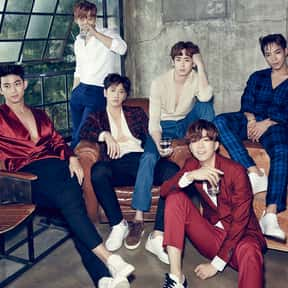 2PM is listed (or ranked) 4 on the list Sony Music Entertainment Complete Artist Roster