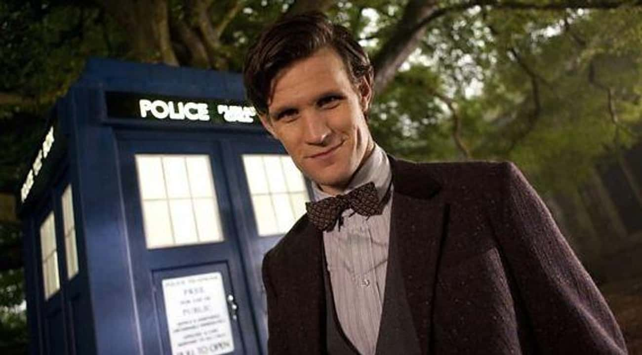 Matt Smith - The Doctor is listed (or ranked) 2 on the list Actors Who Are Only Hot Because Of The Characters They Play