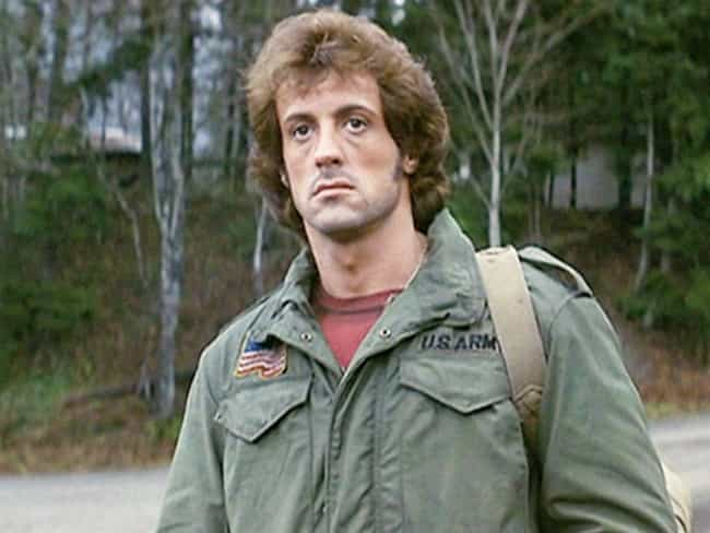 John Rambo is listed (or ranked) 6 on the list 15 Cinematic Alpha Males You Never Noticed Are Almost Certainly Virgins