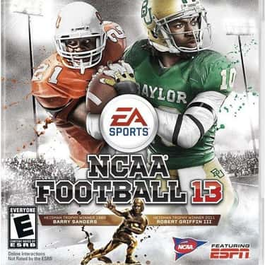 Robert Griffin III is listed (or ranked) 2 on the list NCAA Football Cover Athletes