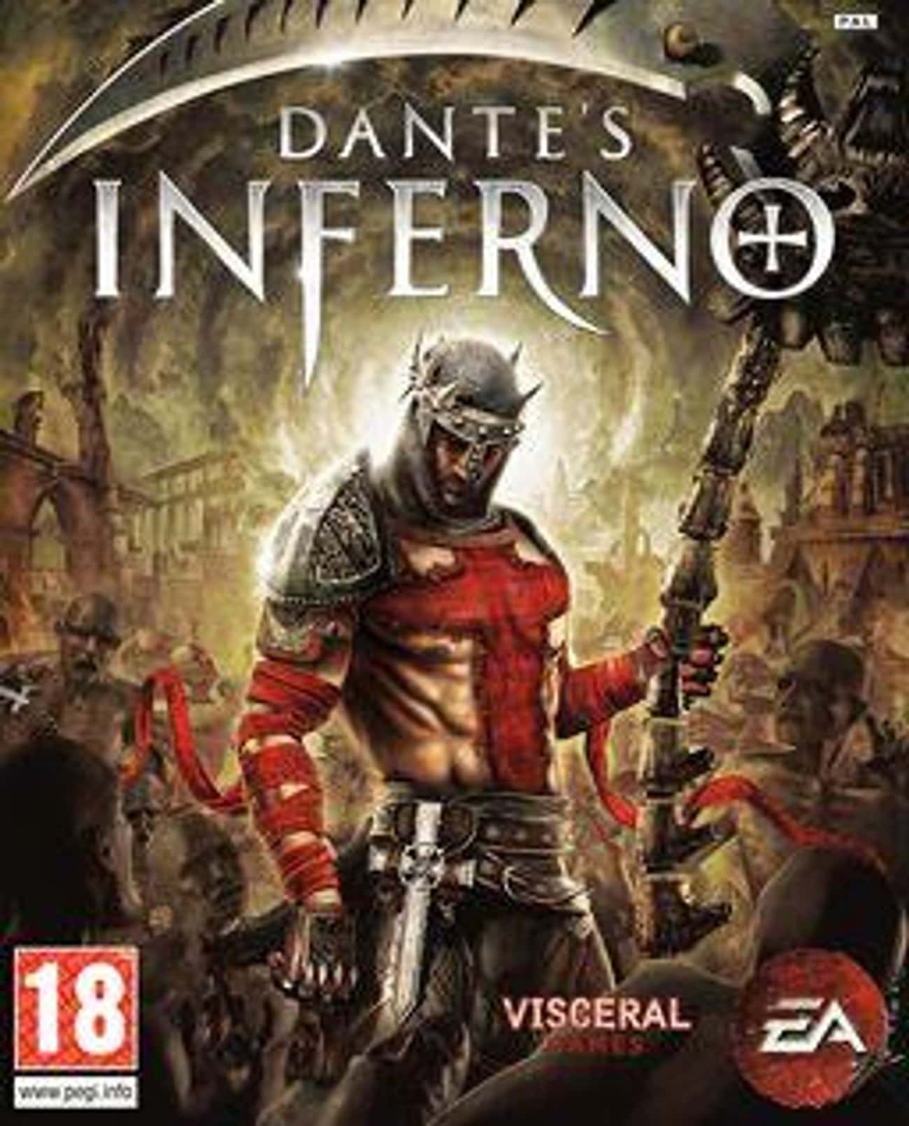 Dante's Inferno is listed (or ranked) 2 on the list Video Games Set In Hell, Ranked By How Much The Devil Would Approve