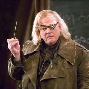 Alastor Moody is listed (or ranked) 25 on the list The Greatest Harry Potter Characters, Ranked