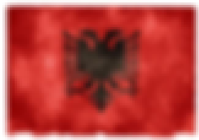 Albania is listed (or ranked) 1 on the list The Coolest National Flags