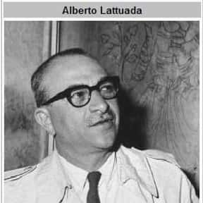 Alberto Lattuada is listed (or ranked) 15 on the list Famous Film Directors from Italy