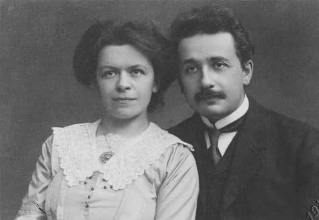 Albert Einstein is listed (or ranked) 5 on the list Celebrities Who Married Their College Sweethearts